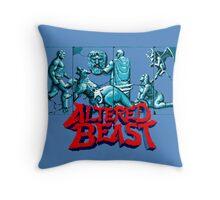 ALTERED BEAST - SEGA ARCADE Throw Pillow