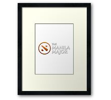 The Manila Major 2016 (version one) Framed Print