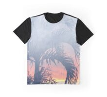 Faded Summer Night Graphic T-Shirt