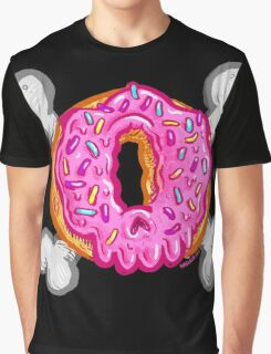 Bone-nut The Donut Skull Graphic T-Shirt