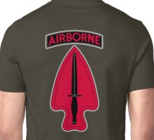 ARMY, AIRBORNE, United States, US, USA, America, American, Special Operations, Command. America, American Unisex T-Shirt