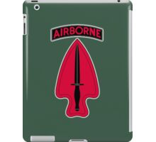 ARMY, AIRBORNE, United States, US, USA, America, American, Special Operations, Command. America, American iPad Case/Skin
