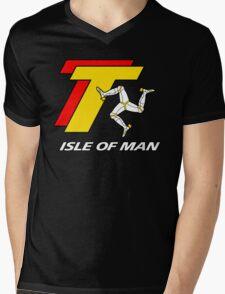 TT TOURIST TROPHY - ISLE OF MAN Mens V-Neck T-Shirt