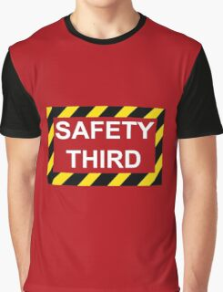 Safety Third Graphic T-Shirt