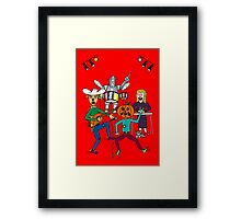 Band of OZ by MH Framed Print