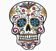 Day of the Dead Skull Kids Tee