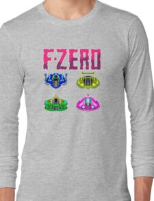 F-ZERO - SUPER NINTENDO Long Sleeve T-Shirt