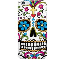 Day of the Dead Skull iPhone Case/Skin