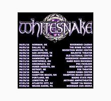 WHITESNAKE TOUR DATE 2016 Unisex T-Shirt