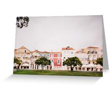 Travel to Lisbon Greeting Card
