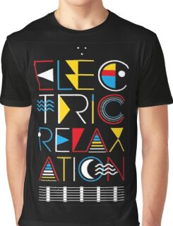 Electric Relaxation Graphic T-Shirt