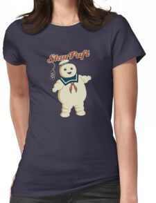 STAY PUFT - MARSHMALLOW MAN GHOSTBUSTERS Womens Fitted T-Shirt