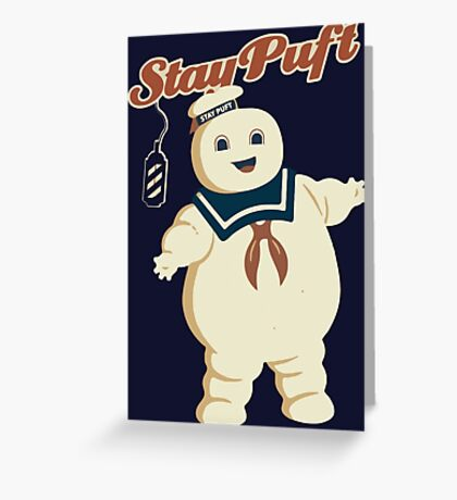 STAY PUFT - MARSHMALLOW MAN GHOSTBUSTERS Greeting Card