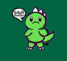 Pixelated Rawr (green) Unisex T-Shirt