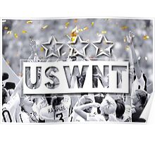 USWNT - 3 Stars (World Cup) Poster