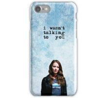 "ROOT ""I wasn't talking to you"" - PERSON OF INTEREST  iPhone Case/Skin"