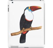 Toucan bird sitting on a branch iPad Case/Skin