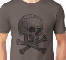 Stipple skull Unisex T-Shirt