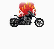Burning Biker Love Classic T-Shirt