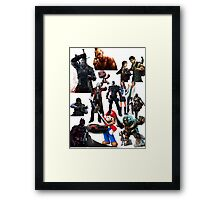 we all are gamers  Framed Print