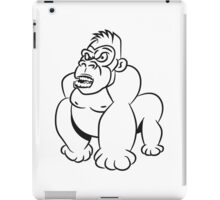 Gorillas agro wicked cool iPad Case/Skin