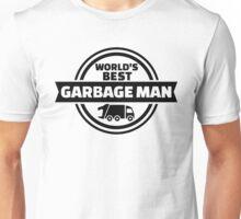 World's best garbage man Unisex T-Shirt