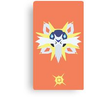 Solgaleo Pokemon Design Canvas Print