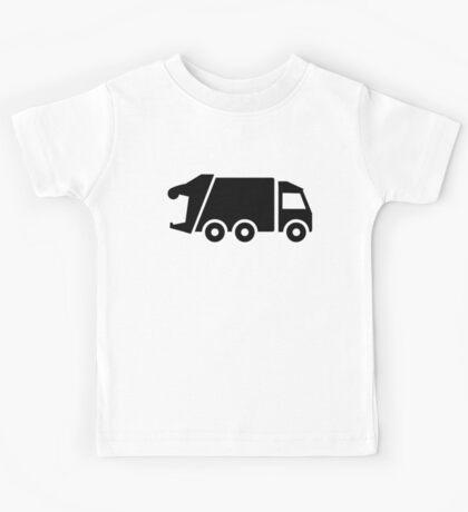 Garbage car Kids Tee