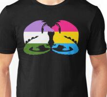 Genderqueer Pansexual Pride Dragons Unisex T-Shirt
