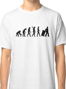 Evolution garbage man Classic T-Shirt