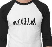 Evolution garbage man Men's Baseball ¾ T-Shirt