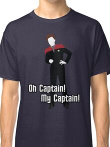 Oh Captain! My Captain! - Kathryn Janeway - Star Trek Classic T-Shirt