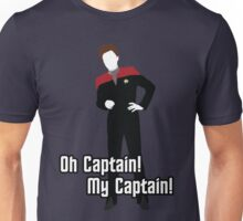 Oh Captain! My Captain! - Kathryn Janeway - Star Trek Unisex T-Shirt