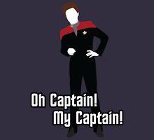 Oh Captain! My Captain! - Kathryn Janeway - Star Trek Unisex T-Shirt