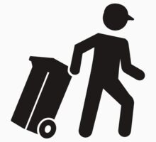 Garbage man One Piece - Long Sleeve