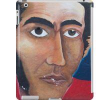 Political graffiti in Otavalo, flag and American Bald Eagle iPad Case/Skin
