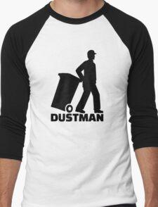 Dustman Men's Baseball ¾ T-Shirt