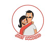 Bob and Linda Belcher: Just Married  Photographic Print
