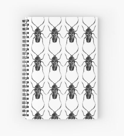 insect fig. 1 - hello kafka Spiral Notebook