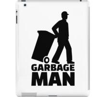 Garbage man iPad Case/Skin