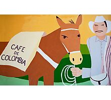 Coffee from Colombia Photographic Print