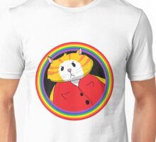 Rainbow Ring and Mean Cat Unisex T-Shirt