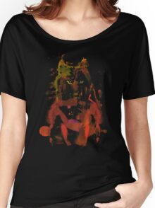 watercolor foxy 2 Women's Relaxed Fit T-Shirt
