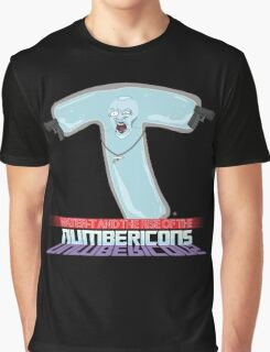 Water-T and The Rise of the Numbericons Graphic T-Shirt