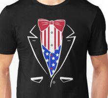 American Patriot Tuxedo Unisex T-Shirt