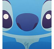 Cute stitch's face Photographic Print