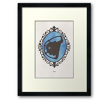 Big Daddy Cameo Framed Print