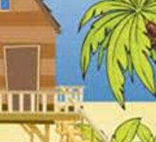 Beach Vacation Sticker