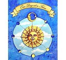 One Day at a Time - watercolor painting Photographic Print