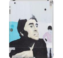 Diego Maradona Graffiti in Buenos Aires, Argentina iPad Case/Skin